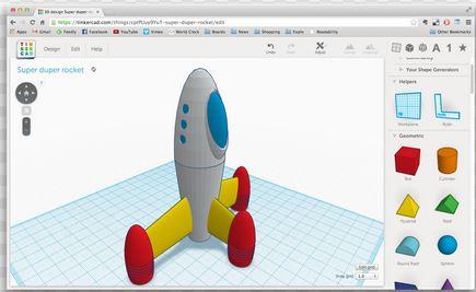 tinkercad-example 123D - Il tris di Autodesk