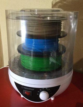 essiccatore per filamento