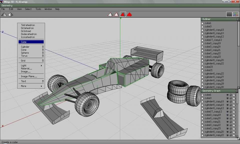 1-wings3d-960x578 Come ottenere il primo modello 3D