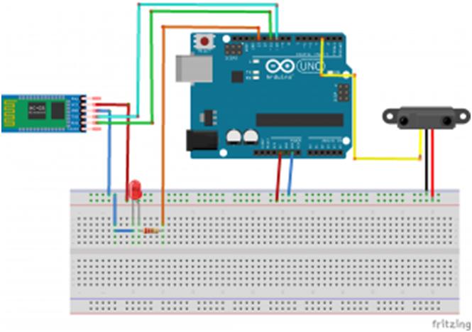 Ard3 Allarme Bluetooth con Arduino