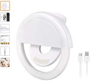 selfie-flash-amazon-320x291 [Recensione] OLLIWON Selfie Light Ring (flash per selfie)