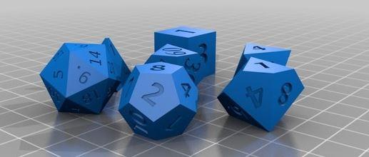 1-12 5 oggetti da stampare per gioco - E' ora di giocare!