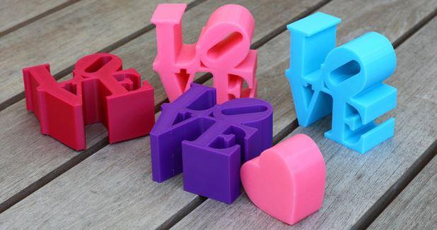1-9 5 oggetti da stampare per San Valentino
