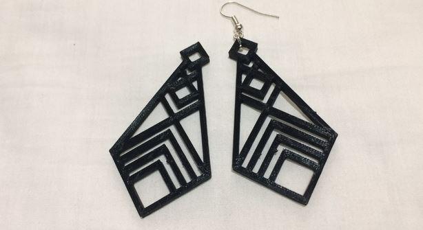 5 oggetti da stampare di gioielleria: Orecchini