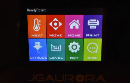 6 Recensione JGAurora A5 - 4 viti e stampiamo in 3D