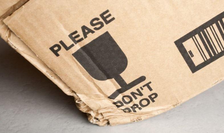 pacco danneggiato