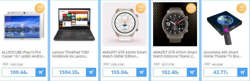 Black friday di Gearbest
