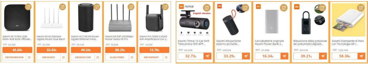 Black Friday di Gearbest Xiaomi